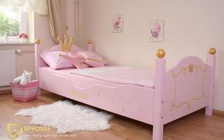 mẫu giường ngủ gỗ đẹp cho bé U58