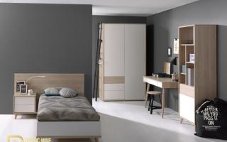 mẫu giường ngủ gỗ đẹp cho bé U61