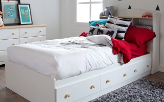 mẫu giường ngủ gỗ đẹp cho bé U68