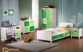 mẫu giường ngủ gỗ đẹp cho bé U7