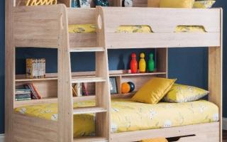 mẫu giường tầng gỗ đẹp U20