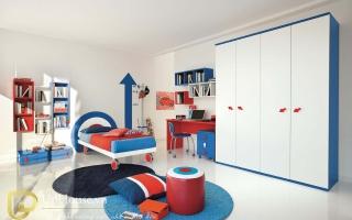 Tủ quần áo trẻ em bằng gỗ U9