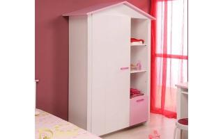 Tủ quần áo trẻ em bằng gỗ U11