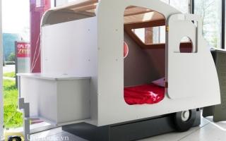 giường ngủ xe hơi cho bé U11