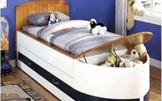 giường ngủ xe hơi cho bé U23