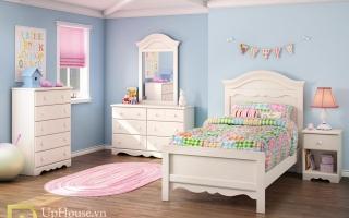 mẫu giường ngủ gỗ đẹp cho bé U36