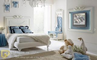 mẫu giường ngủ gỗ đẹp cho bé U46