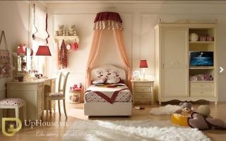 mẫu giường ngủ gỗ đẹp cho bé U51