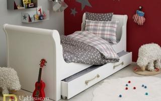 mẫu giường ngủ gỗ đẹp cho bé U64