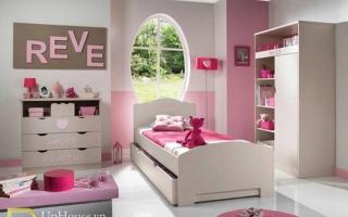 mẫu giường ngủ gỗ đẹp cho bé U66