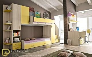 mẫu giường ngủ gỗ đẹp U13