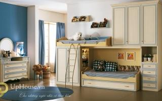 mẫu giường ngủ gỗ đẹp U27