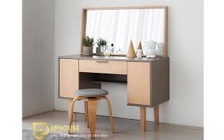 Mẫu bàn phấn trang điểm gỗ đẹp U25