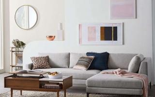 Mẫu ghế sofa phòng khách đẹp U26