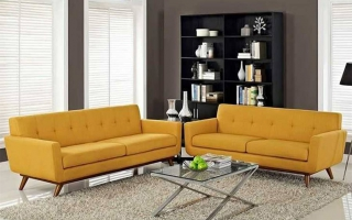 Mẫu ghế sofa phòng khách đẹp U14