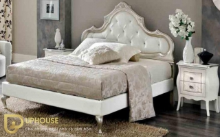 Mẫu giường ngủ gỗ đẹp U28
