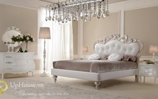 Mẫu giường ngủ gỗ đẹp U1