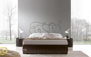 Mẫu giường ngủ gỗ đẹp U12