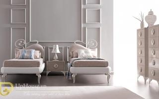 Mẫu giường ngủ gỗ đẹp U24