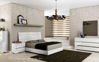 Mẫu giường ngủ gỗ đẹp U3