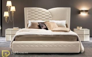 Mẫu giường ngủ gỗ đẹp U40