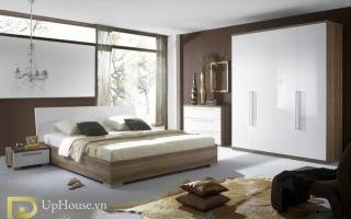 Mẫu giường ngủ gỗ đẹp U53