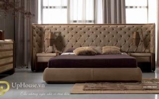 Mẫu giường ngủ gỗ đẹp U57