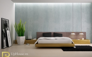 Mẫu giường ngủ gỗ đẹp U60