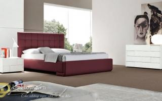 Mẫu giường ngủ gỗ đẹp U61