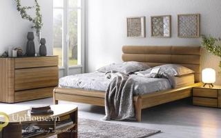 Mẫu giường ngủ gỗ đẹp U63