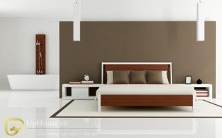 Mẫu giường ngủ gỗ đẹp U65