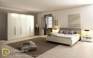 Mẫu giường ngủ gỗ đẹp U70
