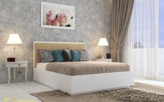 Mẫu giường ngủ gỗ đẹp U17