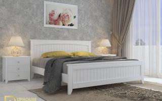 Mẫu giường ngủ gỗ đẹp U18
