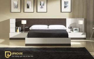 Mẫu giường ngủ gỗ đẹp U29