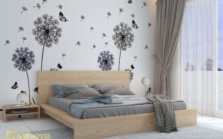 Mẫu giường ngủ gỗ đẹp U30