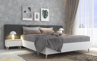 Mẫu giường ngủ gỗ đẹp U32