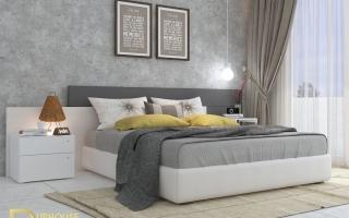 Mẫu giường ngủ gỗ đẹp U34