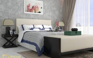 Mẫu giường ngủ gỗ đẹp U43