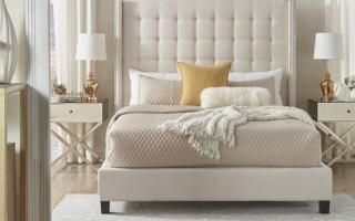 Mẫu giường ngủ gỗ đẹp U71
