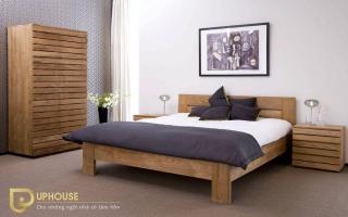 Mẫu giường ngủ gỗ đẹp U72