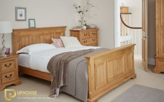 Mẫu giường ngủ gỗ đẹp U74