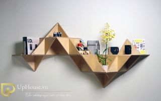 Mẫu tủ kệ gỗ trang trí đẹp U97