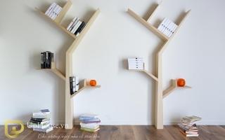 Mẫu tủ kệ gỗ trang trí đẹp U5