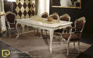 Bộ bàn ăn gỗ đẹp U15