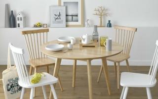 Bộ bàn ăn gỗ đẹp U32