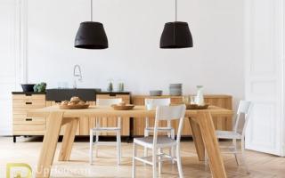 Bộ bàn ăn gỗ đẹp U35