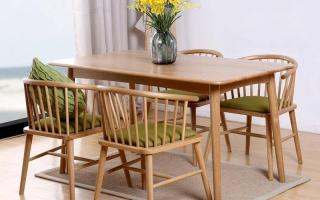 Bộ bàn ăn gỗ đẹp U1