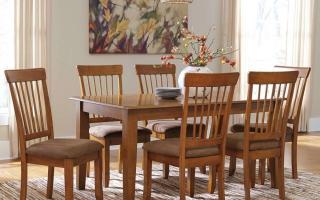 Bộ bàn ăn gỗ đẹp U3