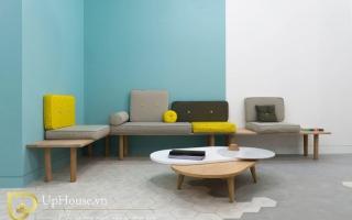 Mẫu ghế sofa phòng khách đẹp U17
